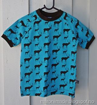 t-skjorte med hjort