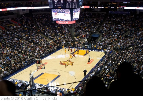 'January 13, 2010 - Golden State Warriors' photo (c) 2010, Caitlin Childs - license: http://creativecommons.org/licenses/by-sa/2.0/