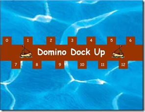 Domino dock up screen