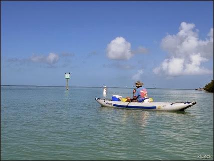 paddling in the Keys