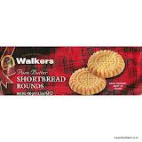 Walkers Shortbread Rounds, 100g