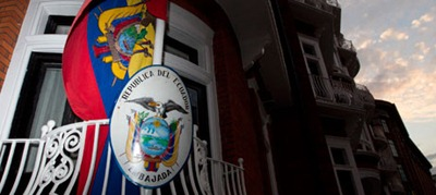 The-embassy-of-Ecuador-in-London