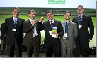 PSA_Equipe brasileira recebe o prêmio
