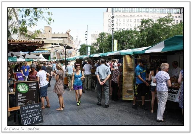 Real Food Market at Royal Festival Hall