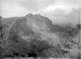 Gunung Kelud crater (unknown photographer, 1907-1931) Courtesy TropenMuseum Archives