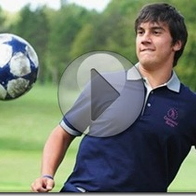 European Tour Keepy Uppy Competition Video