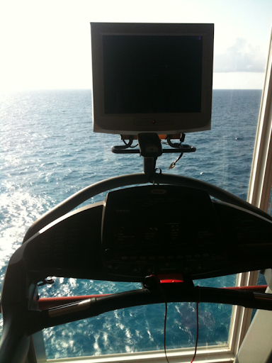 Treadmill on the ocean!!