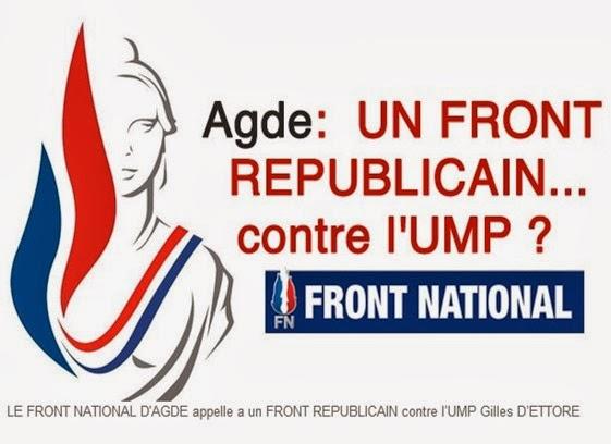Front Republican contra l'UMP