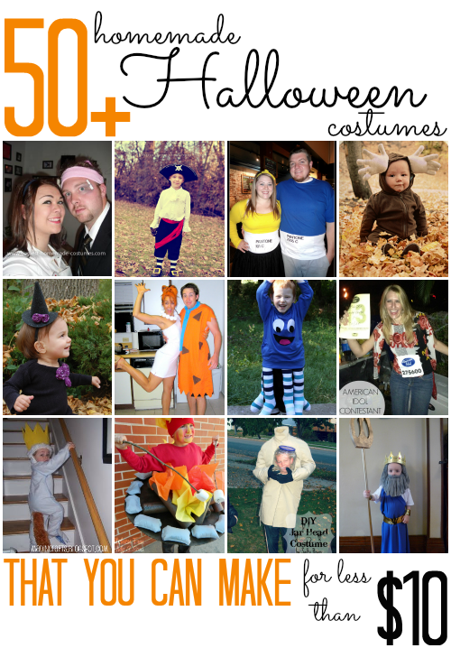 50  Homemade Halloween Costumes