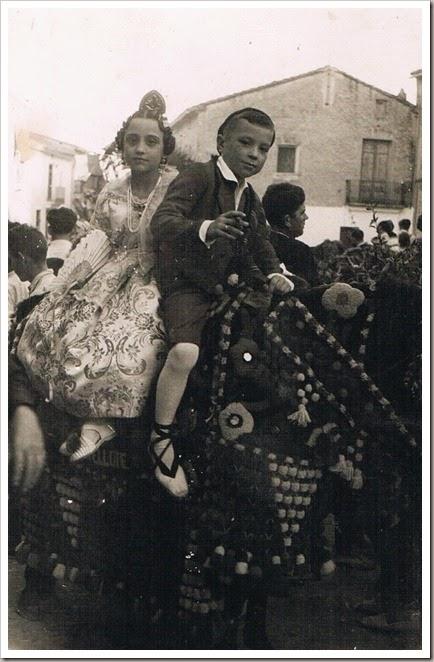 AÑOS 50 EL SORTEO DEL NIÑO
