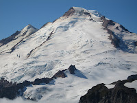 Park Glacier on east face of Mt Baker.