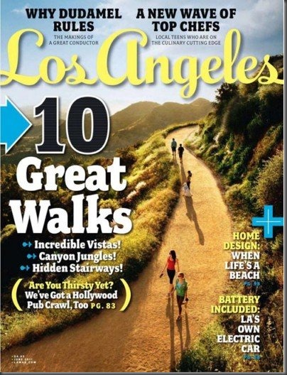 Los Angeles Magazine June 2011 Featuring the Chuck