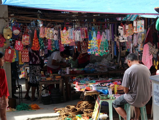 Market Valencia bohol