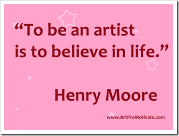 Art Quotes About Life Enchanting 99 Inspirational Art Quotes From Famous Artists  Artpromotivate