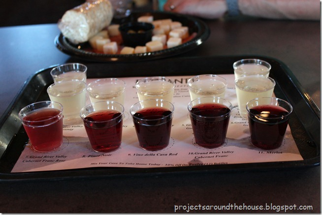Ferrante winery sampler