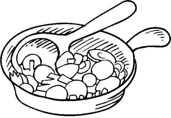 casserole crealys coloring pages - photo#27