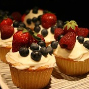 FruitSalad Cupcake