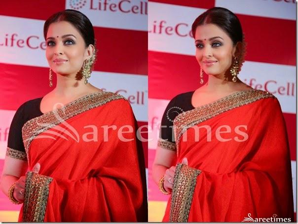 Aishwarya_Rai_Red_Sabyasachi_Saree(3)