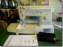 singer sewing machine model 1022