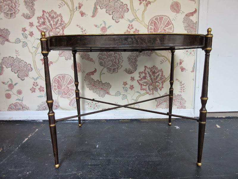 Italian Decoupage Tray Table