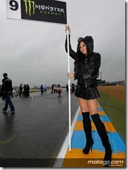 Paddock Girls Monster Energy Grand Prix de France  20 May  2012 Le Mans  France (19)