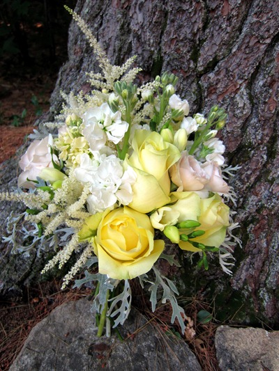 Pale Yellow Bouquet