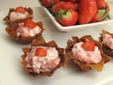 Strawberry Filo Bites