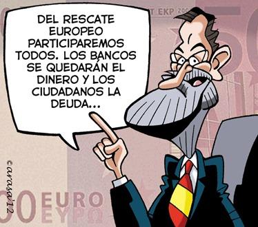 Rescate bancos Rajoy