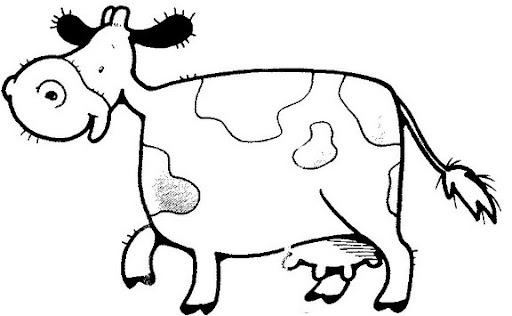 Dibujos de vacas lecheras - Imagui