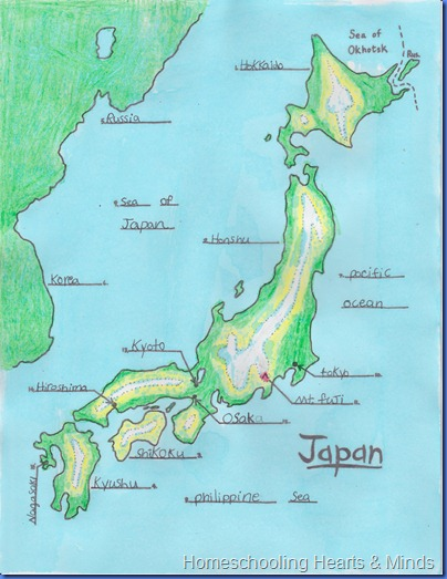 Japan Five Themes of Geography  ThingLink
