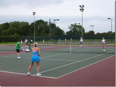 Open doubles tournament