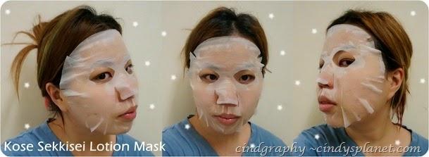 Kose Sekkisei Lotion Mask