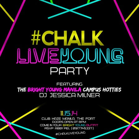 Chalk Live Young Party