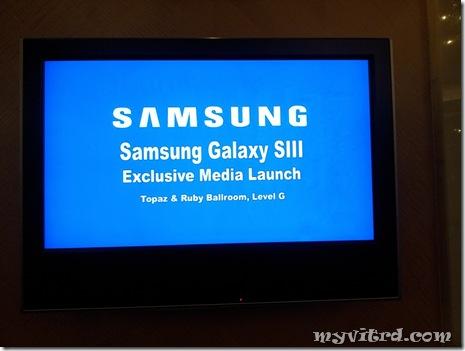 Pelancaran Samsung Galaxy SIII 1
