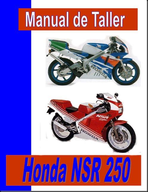 taller honda nsr 250