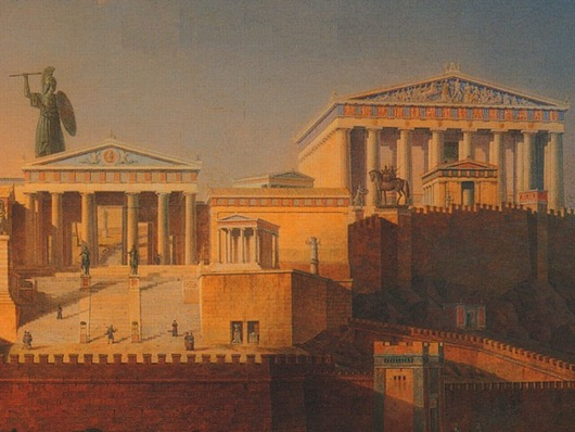 Parthenon_Painting_Leo_Von_Klenze_in_18461