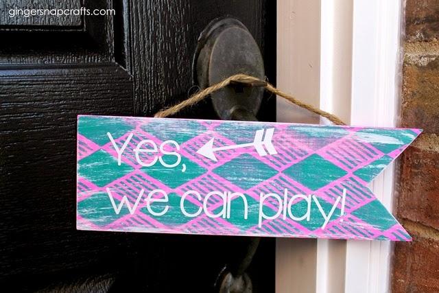 door sign for kids