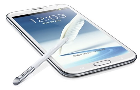 Galaxy note 2 com android 4.3
