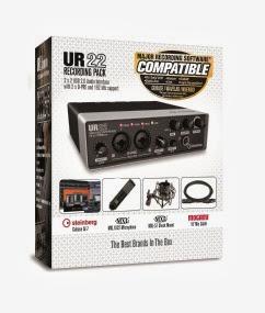 UR22 Recording Pack Box mock sticker