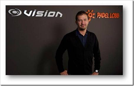 Fred Vertical, nuevo director de desarrollo internacional del grupo VISION Pádel.