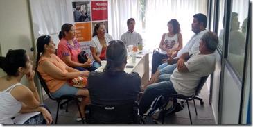 Funcionarios del Ministerio de Desarrollo Social de la Nación se reunieron con representantes del Ejecutivo municipal