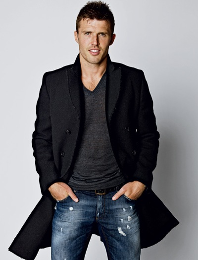 Michael Carrick by Max Vadaukul for The New York Times Style Magazine, September 11, 2011