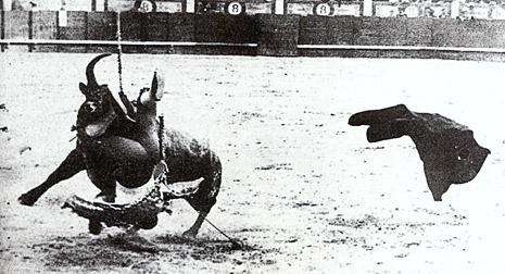 1910-07-10 Madrid Pap Negro Viajero Cogida 001