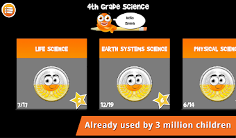 Screenshot of iTooch 4th Grade Science