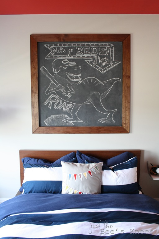 DIY chalkboard from Just The Bee's Knees