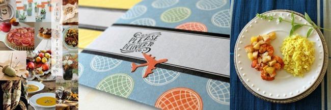 Warm Pear Salsa, DIY Envelopes, Fall Inspiration