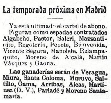 1909-03-25 Cartel de abono (El Enano) 01
