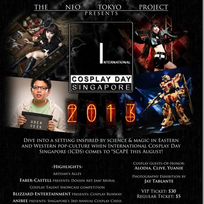 International Cosplay Day Singapore (ICDS) 2013