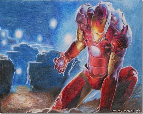 ironman, Autor: YAYAUHQUI TEZCATLIPOCA