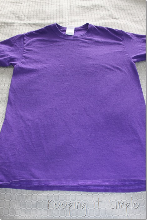 gathered sides t-shirt refashion (2)